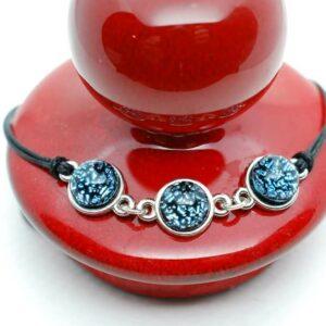 bransoletka-3-elementy-srebrzysto-niebieski-rekodzielo