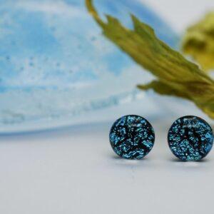 kolczyki-sztyfty-rekodzielo-srebrzysto-niebieskie