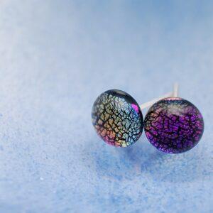 kolczyki-sztyfty-teczowy-fiolet-bizuteria-artystyczna