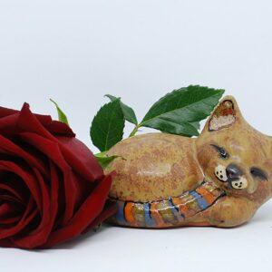 kotek-spiacy-brazowy-7-figurki-ceramiczne-rekodzielo-zizuza