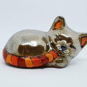 kotek-spiacy-jasnozloty-sklep-z-ceramika-artystyczna-zizuza