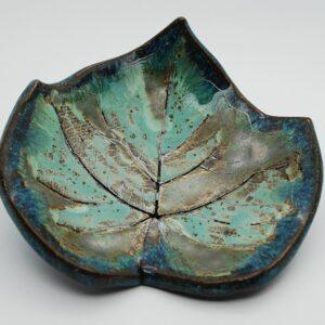 miseczka-listek-turkusowy-sklep-z-ceramika-zizuza