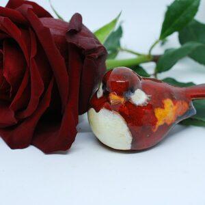 ptaszek-czerwony-ceramika-sklep-z-rekodzielem-zizuza