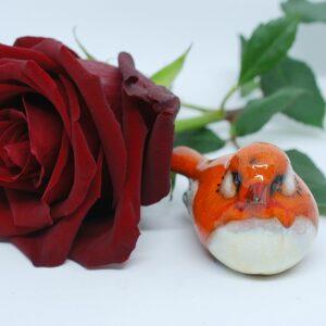 ptaszek-pomaranczowy-figurki-ceramiczne-sklep-internetowy-zizuza