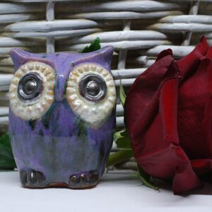 sowka-mala-fioletowy-figurka-ceramiczna-rekodzielo-zizuza
