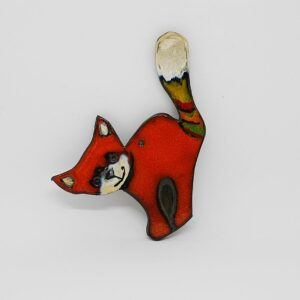 zawieszka-kot-duzy-pomaranczowy-ceramika-rekodzielo-sklep-internetowy-zizuza