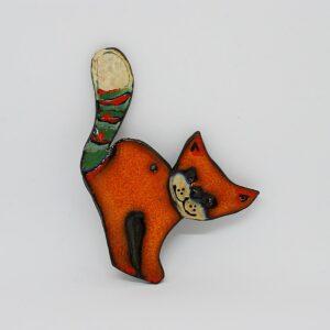 zawieszka-kotek-wiekszy-jasny-pomaranczowy-ceramika-rekodzielo-zizuza