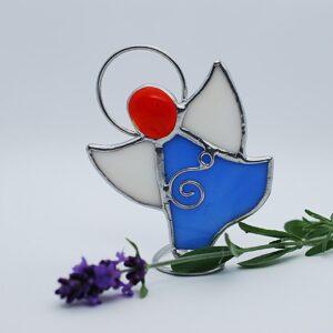 aniolek-tanczacy-niebiesko-bialy-rekodzielo-artystyczne-witraze-zizuza