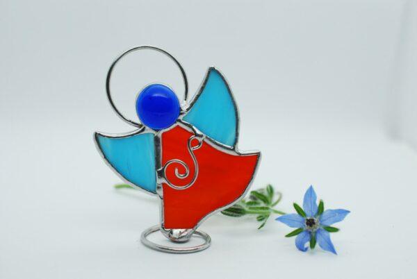 aniolek-tanczacy-pomaranczowo-niebieski-sklep-z-rekodzielem-witraze-zizuza