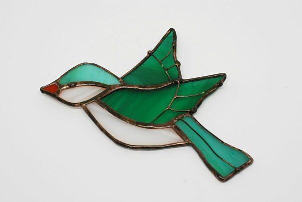 ptaszek-wiszacy-morski-dekoracja-witrazowa-rekodzielo