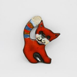 zawieszka-kotek-mniejszy-pomaranczowy-zawieszka-ceramiczna-rekodzielo